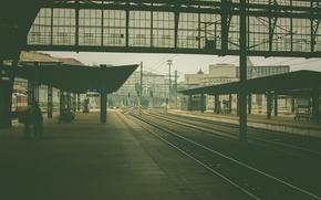 Picture station, prague, railway station
