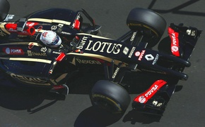 Wallpaper Lotus, Formula 1, E22, Romain Grosjean
