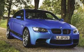 Picture BMW, E92, BLUE, KOMPRESSOR