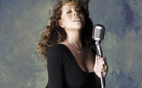 Picture girl, Mariah Carey, singer