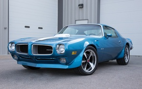Picture blue, 1970, pontiac, Trans Am