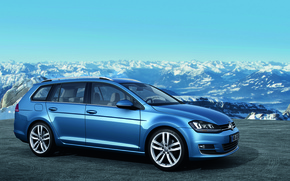 Picture Mountains, Volkswagen, Profile, Golf, Universal, Sport Wagon