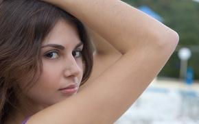 Picture girl, model, brunette, girls, model, Wallpaper, women, pornstar, brunett, metart magazine, astrud a