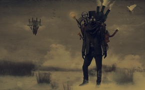 Picture People, Gas mask, Steampunk, Steampunk, Parabank