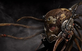 Picture look, helmet, Mask, Steampunk, Steampunk