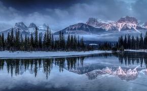 Picture panorama, Alberta, Canada, Canmore