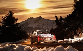 Picture Hyundai, WRC, Rally, Rally, Monte Carlo, i20