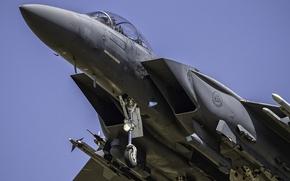 Wallpaper weapons, the plane, f15, STRIKE EAGLE