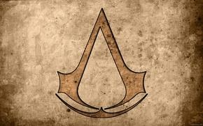 Wallpaper Sign, Logo, Assassin's Creed