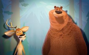 Wallpaper Bear, Hunting Season, Deer