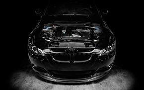 Picture engine, black, tuning, BMW, bmw m3, 1013mm