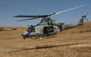 Picture Bell, multi-purpose helicopter, UH-1Y Venom, (Yankee)