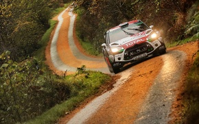 Picture Citroen, DS3, WRC, Rally, Wales, Kris Meeke