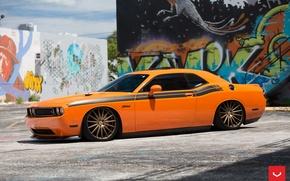 Picture Dodge, Challenger, Vossen, Wheels, Bronze, VFS2, 2015 - 1067