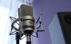 Picture music, sound, microphone, neumann, Studio