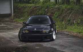 Picture BMW, black, before, E46