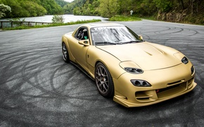 Picture Mazda, Drift, RX-7, JDM, Stance, Low, FD3S