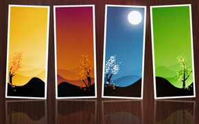 Picture background, pictures, brown, seasons