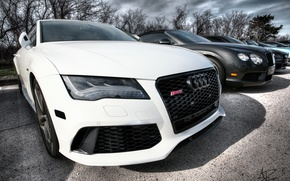 Picture audi, white, RS7