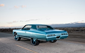 Picture Chevrolet, 1971, tuning, rear, Impala, swagger, Cali