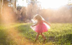 Picture joy, mood, dress, girl