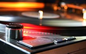 Wallpaper record, DJ light, Music