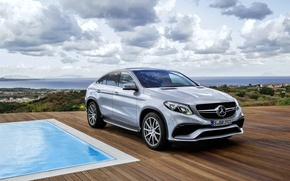 Picture Mercedes, Mercedes, AMG, Coupe, AMG, Benz, 2015, C292, GLE 63