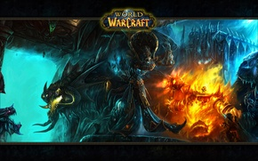 Picture fire, elf, warld of warcraft