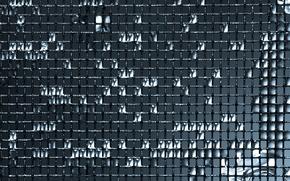 Wallpaper grille, water, mesh, drops