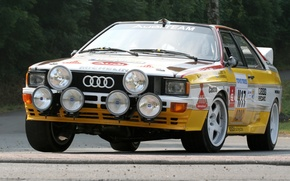 Picture background, Audi, Audi, the front, Quattro, Group B, Quattro, Rally car