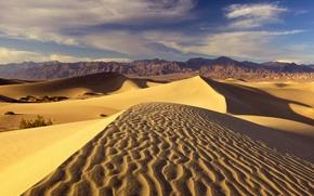 Picture mountains, Desert, dunes