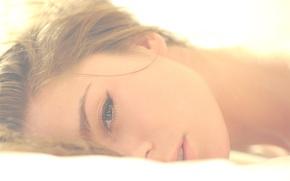 Picture look, girl, face, model, lips, beauty, brown hair, Nastya, Panteleeva