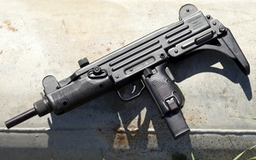 Picture weapons, background, Israel, UZI Model A