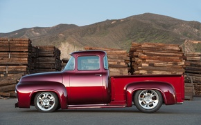 Picture Ford, Red, Tuning, X-100, Bodie Stroud