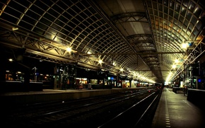 Wallpaper Railways, station, train