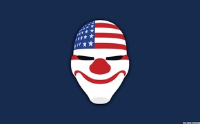 Picture Dallas, Dallas, Mask, Overkill Software, PAYDAY 2