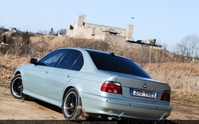 Picture BMW, wheels, Car, fortress, 5 series, Wallpaper, E39