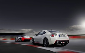 Picture Auto, White, Machine, Toyota, Car, Blik, GT86, Two, GT 86, Cup Edition
