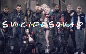 Picture Jared Leto, Harley Quinn, JUEL Kinnaman, Margot Robbie, Cara Delevingne, Suicide Squad, Jai Courtney, Suicide …