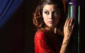 Picture decoration, portrait, makeup, Ivan Lee, The Beauty of Arabian