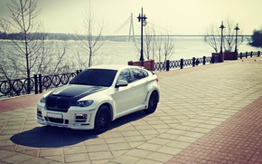 Picture BMW, white, tuning, E72, HAMANN