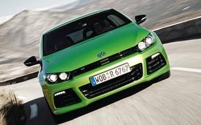 Picture Road, Volkswagen, Machine, Movement, Machine, Car, Car, Green, Cars, Green, Cars, Volkswagen, Road, Sirocco, Scirocco, …