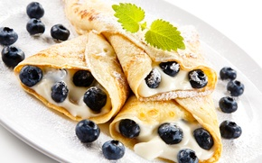 Picture Food, Pancakes, Cakes, Blueberries