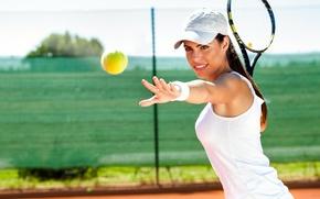 Picture sport, Girl, tennis, tennisace