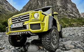 Picture Concept, face, Mercedes-Benz, Mercedes, the front, BRABUS, 4x4, AMG, Benz, W463, 2015, G 500