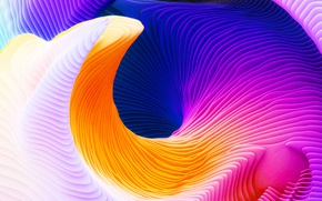 Picture paint, Apple, color, abstraction, Macbook Pro Retina, 2016, macOS