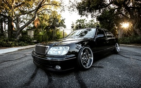 Picture Black, Machine, Tuning, Lexus, Car, Car, Black, Wallpapers, Tuning, Beautiful, VIP, Automobiles, Stance, Luxury, ЛС400, …
