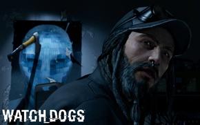 Picture Beard, ubisoft, Watch Dogs, Watchdogs