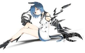 Picture look, background, anime, art, ears, nekomimi, Tokiti