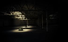 Picture light, dark, TV, composition